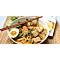 Nouilles végétariennes au curry rouge avec nos RawNoodles