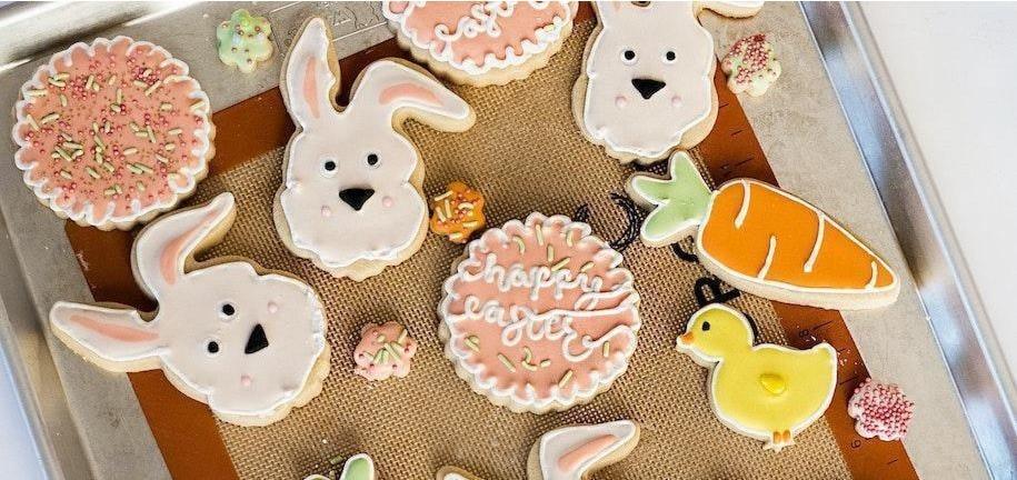 Les Cookies au sucre de printemps peu caloriques