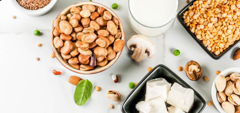 4 aliments protéinés, peu glucidiques et vegan