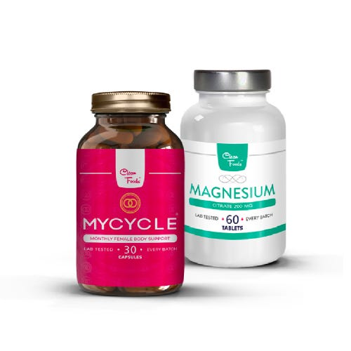 3x MyCycle + Magnesium