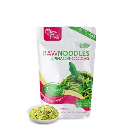 Konjac Noodles Épinards